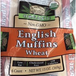 Alpine Valley English Muffins Wheat