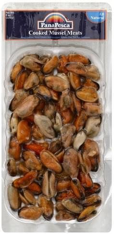 PanaPesca Cooked Mussel Meats - 8 oz