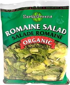 Earth Greens Romaine Salad