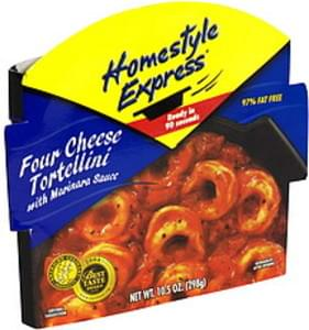 Homestyle Express Four Cheese Tortellini with Marinara Sauce