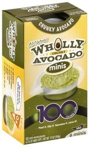 Wholly Avocado Mild, Chunky, Minis