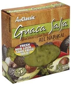 Avo Classic Guacamole & Green Salsa Guaca Salsa