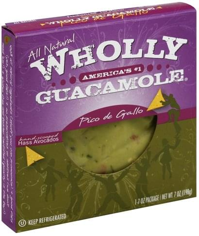 Wholly Pico de Gallo Guacamole - 1 ea