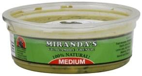 Mirandas Guacamole Fresco, Medium