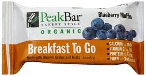 Peak Cereal Bar Blueberry Muffin