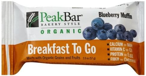 Peak Blueberry Muffin Cereal Bar - 2 oz
