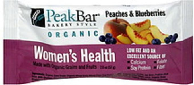 Peak Women's Health Bar Peaches and Blueberries
