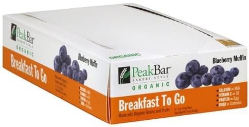Peak Blueberry Muffin Cereal Bar - 8 ea