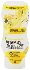 Vitamin Squeeze Powder Water Enhancer Lemonade