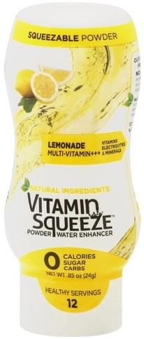 Vitamin Squeeze Lemonade Powder Water Enhancer - 0.85 oz