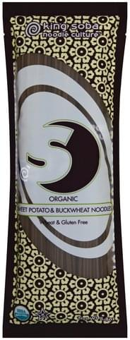 King Soba Organic, Sweet Potato & Buckwheat Noodles - 8.8 oz