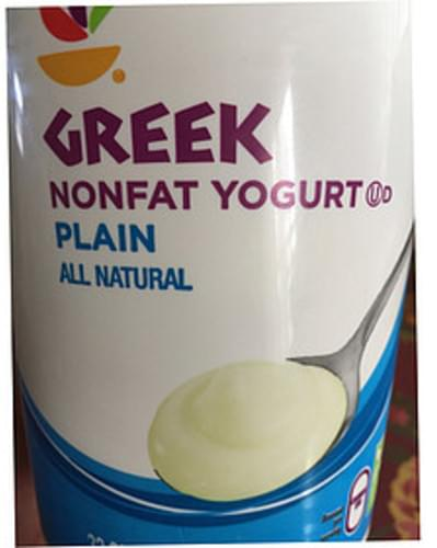 Giant Plain Greek Nonfat Yogurt - 227 g
