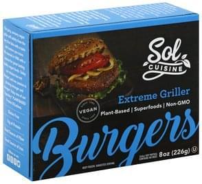 Sol Cuisine Burgers Extreme Griller