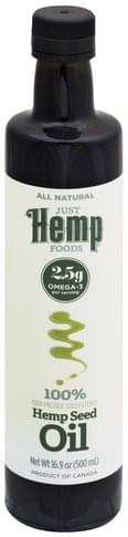 Just Hemp Foods Hemp Seed Oil - 16.9 oz