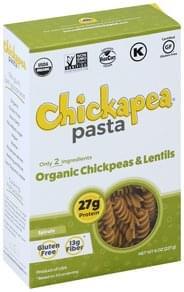 Chickapea Spirals Organic, Chickpeas & Lentils