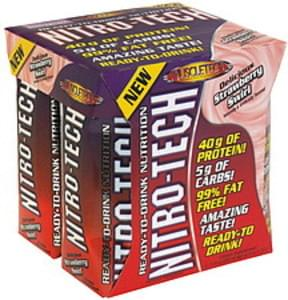 MuscleTech Ready-To-Drink Nutrition Delicious Strawberry Swirl