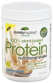 Purely Inspired Nutritional Shake Protein, Natural Vanilla