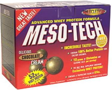 MuscleTech Advanced Whey Protein Formula Delicious Chocolate Cream