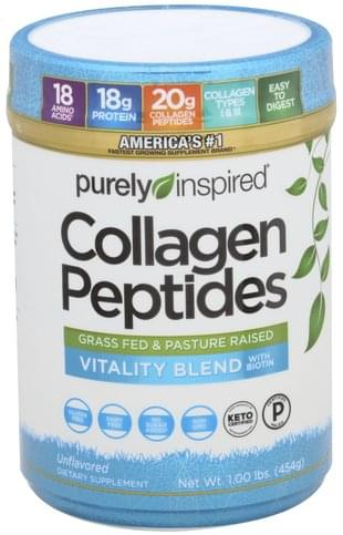 Purely Inspired Unflavored Collagen Peptides - 1 lb