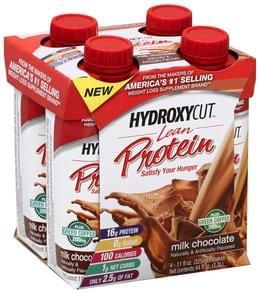 Hydroxycut Protein Shakes Lean, Milk Chocolate