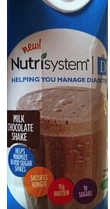 Nutrisystem Milk Chocolate Shake