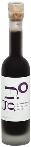 O California, Fig Balsamic Vinegar - 6.8 oz