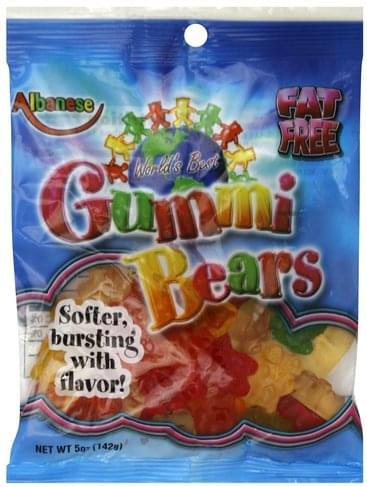 Albanese Worlds Best Gummi Bears - 5 oz