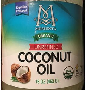 Mementa Coconut Oil Unrefined