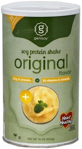Genisoy Original Flavor Soy Protein Shake - 16 oz