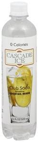 Cascade Ice Sparkling Cocktail Mixer Club Soda
