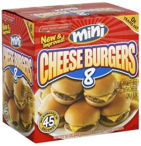 Select Express Cheese Burgers Mini