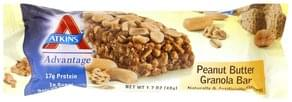 Atkins Granola Bar Peanut Butter