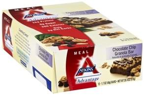 Atkins Granola Bar Chocolate Chip