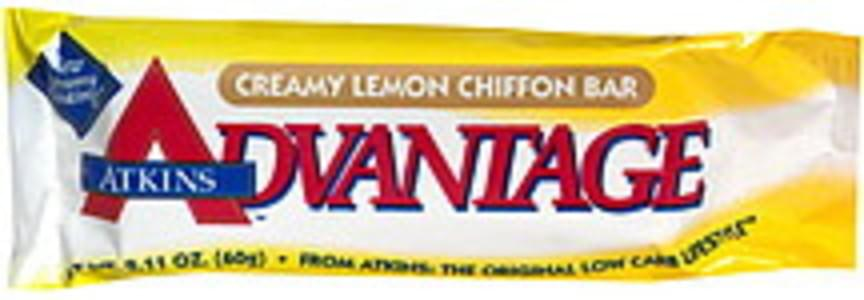 Atkins Creamy Lemon Chiffon Bar