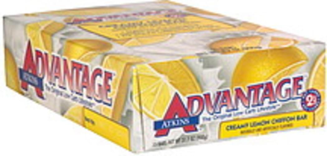 Atkins Creamy Lemon Chiffon Bar - 15 ea