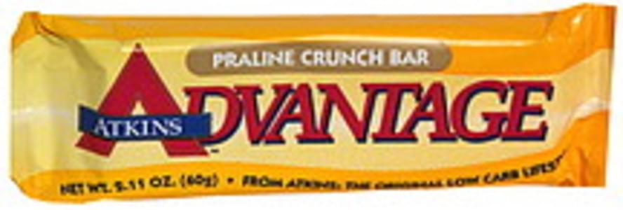 Atkins Praline Crunch Bar
