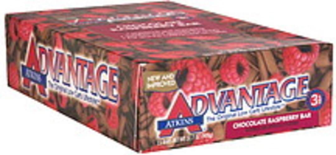 Atkins Chocolate Raspberry Bar - 15 ea