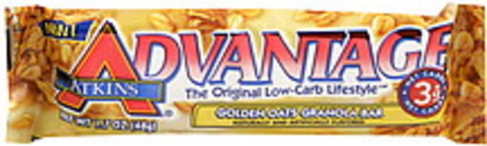 Atkins Granola Bar Golden Oats