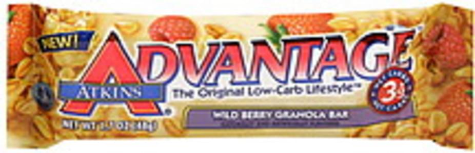 Atkins Granola Bar Wild Berry