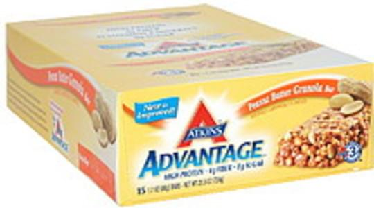 Atkins Granola Bar Peanut Butter