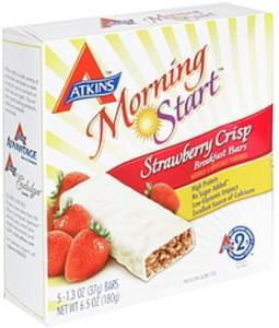 Atkins Breakfast Bars Strawberry Crisp
