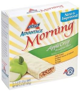 Atkins Breakfast Bar Apple Crisp