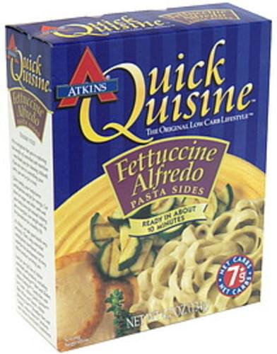 Atkins Fettuccine Alfredo Pasta Sides - 4.7 oz