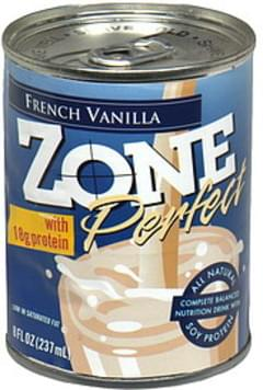 Zone Perfect Nutrition Drink French Vanilla