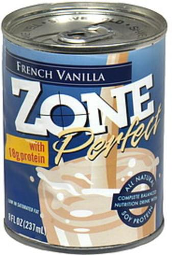 Zone Perfect French Vanilla Nutrition Drink - 8 oz