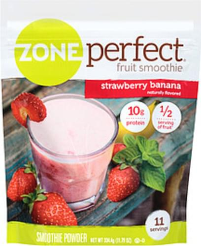Zone Perfect Strawberry Banana Smoothie Powder - 11.71 oz
