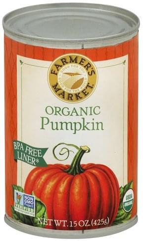 Farmers Market Organic Pumpkin - 15 oz