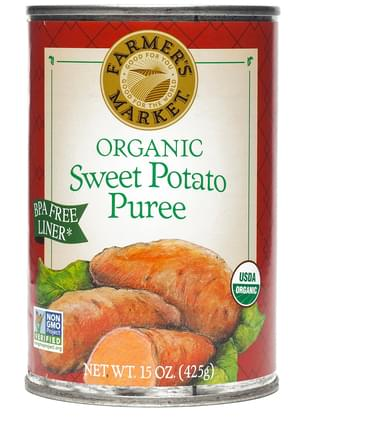 Farmer's Market Foods Organic Organic Sweet Potato Puree - 15 oz