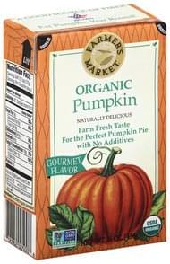 Farmers Market Pumpkin Organic