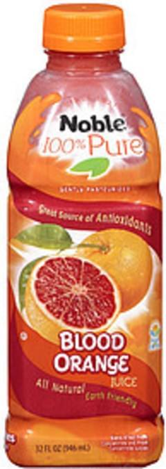 Noble Fruit Juice Drink Blood Orange W/Antioxidants